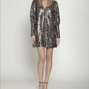 Walter Baker Size M Sequined Dress
